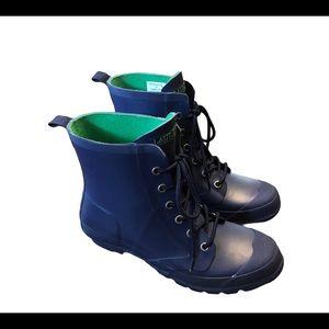Lauren Ralph Lauren Rain Boots women's Blue Sz:9B